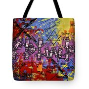 The Name Of God Tote Bag by Anthony Falbo