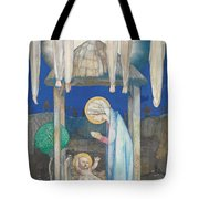 The Nativity Tote Bag by Edward Reginald Frampton