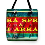 The North Arkansas Line Tote Bag by Benjamin Yeager