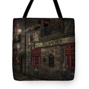 The Old Anchor Pub Tote Bag by Erik Brede