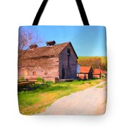 The Old Barn 5D22271 Tote Bag by Wingsdomain Art and Photography