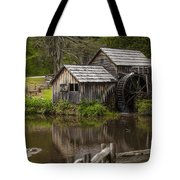 The Old Mill After The Rain Tote Bag by Amber Kresge