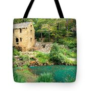 The Old Mill - North Little Rock - Pugh's Mill 1832 Tote Bag by Gregory Ballos