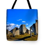 The Old Quarry At #18 - Chambers Bay Golf Course Tote Bag by David Patterson