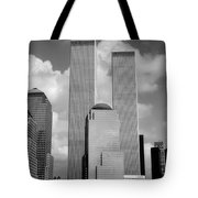 The Old WTC Tote Bag by Joann Vitali