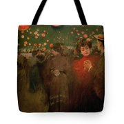 The Open Air Party Tote Bag by Ramon Casas i Carbo