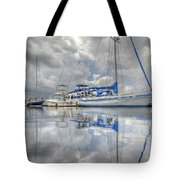 The Outer Pier Tote Bag by John Adams