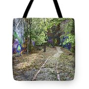 The Path of Graffiti Tote Bag by Jason Politte