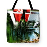 The Pelican Brief Stop Tote Bag by Tina M Wenger