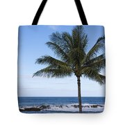 The Perfect Palm Tree - Sunset Beach Oahu Hawaii Tote Bag by Brian Harig