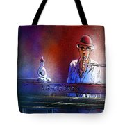 The Pianist 02 Tote Bag by Miki De Goodaboom