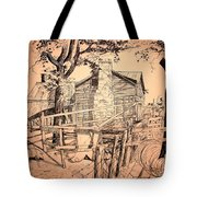 The Pig Sty Tote Bag by Kip DeVore