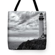 The Pigeon Point Beacon Tote Bag by Eduard Moldoveanu