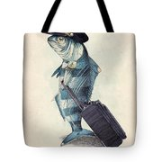 The Pilot Tote Bag by Eric Fan