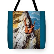 The Plunge   Tote Bag by Karen Wiles