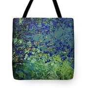 The Pond Tote Bag by Linda Bailey