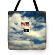 The Price Of Freedom Tote Bag by Glenn McCarthy Art and Photography