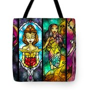 The Princesses Tote Bag by Mandie Manzano