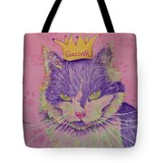 The Queen Tote Bag by Rhonda Leonard