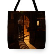 The Quire Lies Beyond Tote Bag by Lisa Knechtel