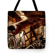 The Red Barn Of The Boeing Company II Tote Bag by David Patterson