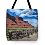 The Red Cliffs Tote Bag by Gregory Ballos