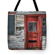 The Red Door Tote Bag by Eric Gendron