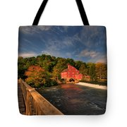The Red Mill Tote Bag by Paul Ward