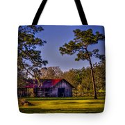 The Red Roof Barn Tote Bag by Marvin Spates