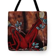 The Red Shoes Tote Bag by Barbara St Jean