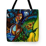 The Rite Of Spring Tote Bag by Genevieve Esson