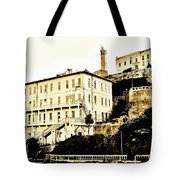 The Rock Tote Bag by Benjamin Yeager