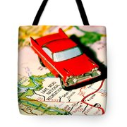 The Scenic Route Tote Bag by Benjamin Yeager