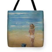 The Seagulls Tote Bag by Almeta LENNON
