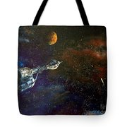 The Search For Earth Tote Bag by Murphy Elliott