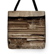 The Sepia Guitar Tote Bag by Skip Willits