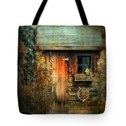 The Shed Tote Bag by Jessica Jenney