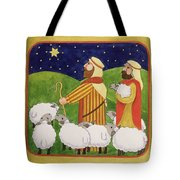 The Shepherds Tote Bag by Linda Benton