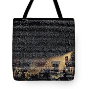 The Signing of The United States Declaration of Independence v2 Tote Bag by Wingsdomain Art and Photography