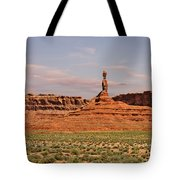 The Spindle - Valley Of The Gods Tote Bag by Christine Till