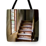 The Stairs Tote Bag by Karol Livote