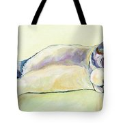 The Sunbather Tote Bag by Pat Saunders-White