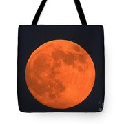 The Super Moon Tote Bag by Marcia Lee Jones
