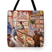 The Sweetshop Tote Bag by Steve Crisp