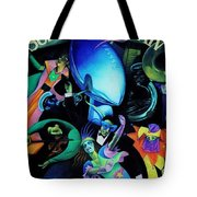 The Team Of The 80s Tote Bag by Benjamin Yeager