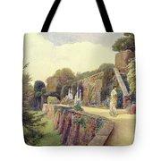 The Terrace At Berkeley Castle Tote Bag by George Samuel Elgood