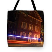 The Todd House Philadelphia Tote Bag by Christopher Woods