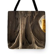 The Tree And The Post Box Tote Bag by Mary Machare