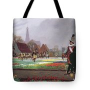 The Tulip Folly Tote Bag by Jean Leon Gerome