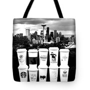The Usual Seattle Suspects Tote Bag by Benjamin Yeager